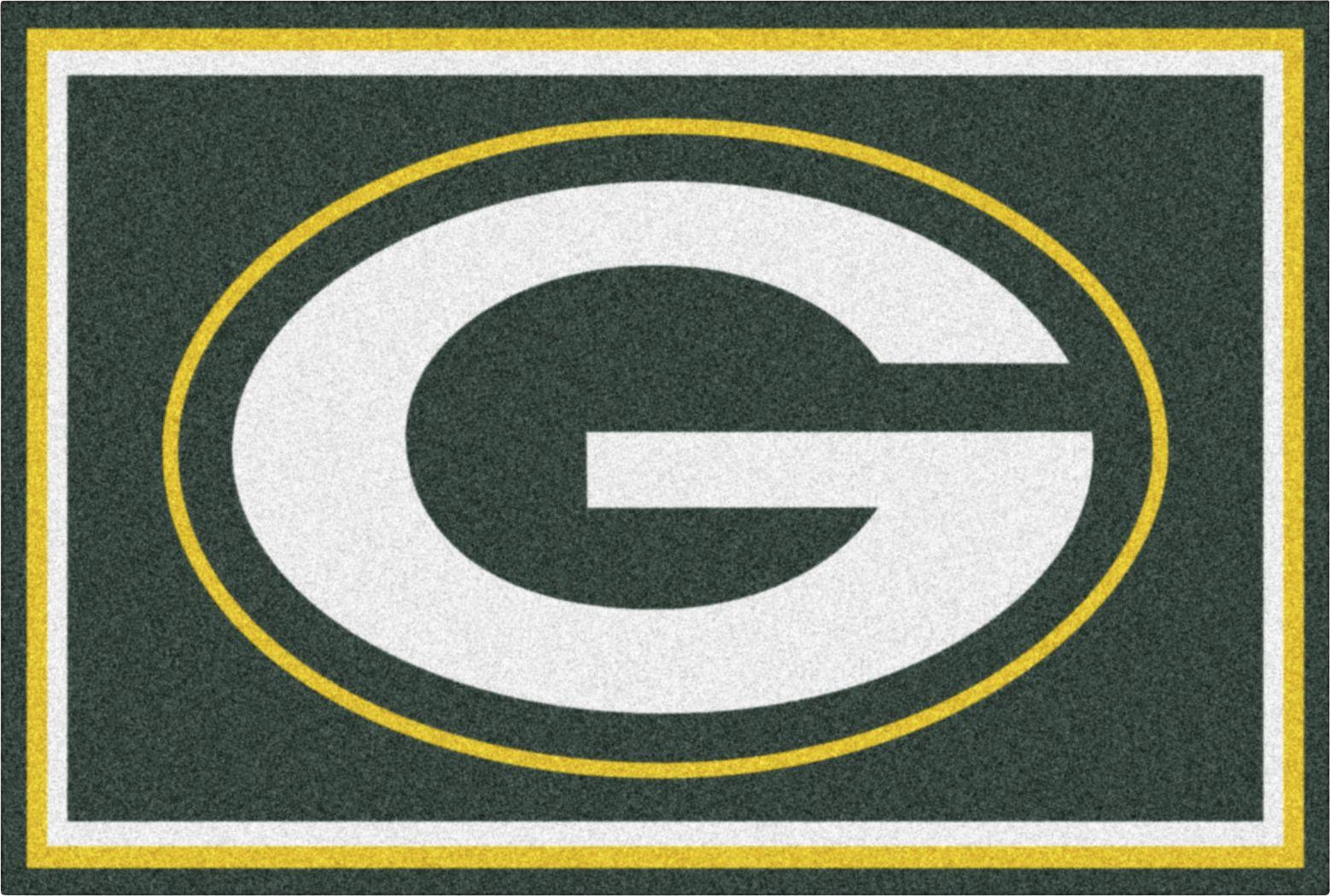 NFL Big Game Green Bay Packers 5' x 8' Rug