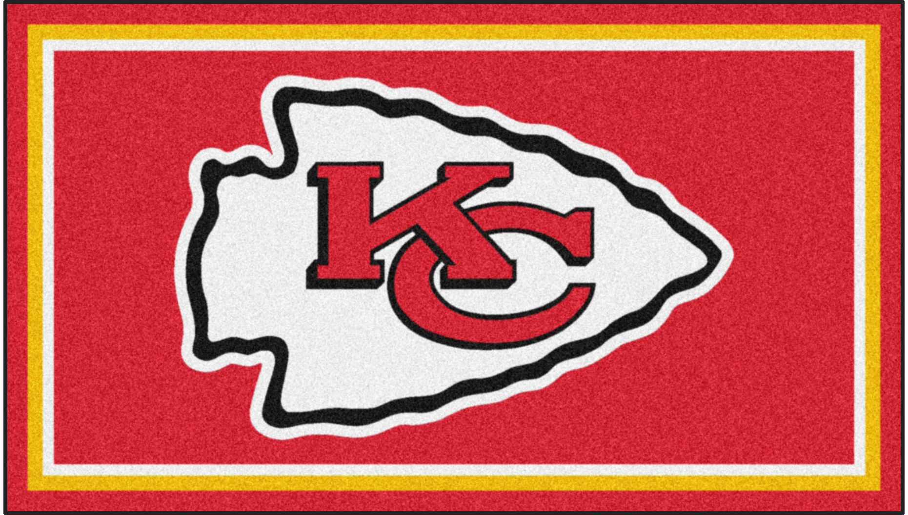 NFL Big Game Kansas City Chiefs 3' x 5' Rug
