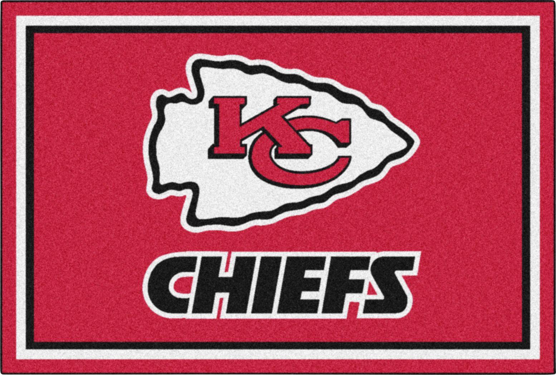 NFL Big Game Kansas City Chiefs 5' x 8' Rug