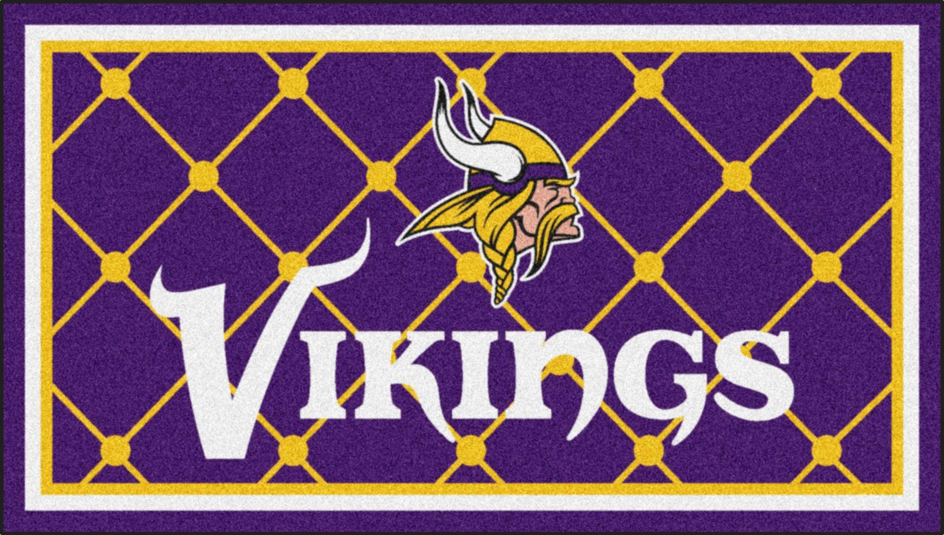 NFL Big Game Minnesota Vikings 3' x 5' Rug
