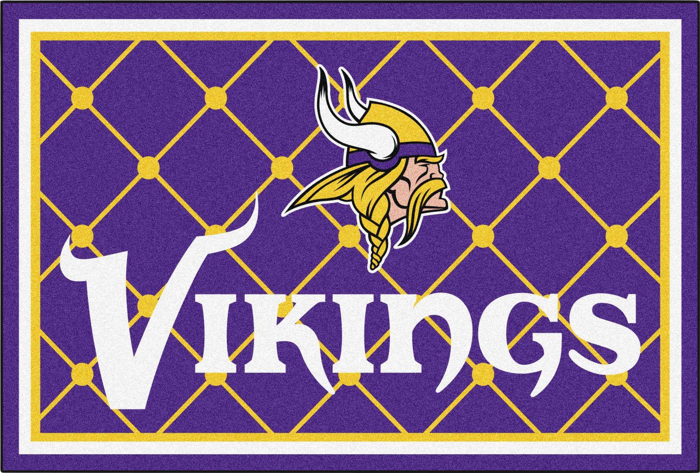 NFL Big Game Minnesota Vikings 5' x 8' Rug