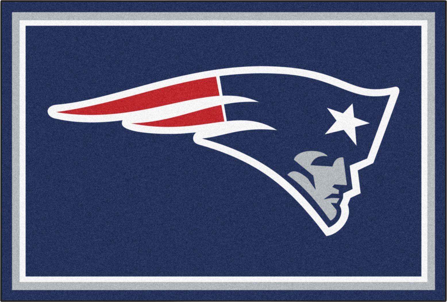 NFL Big Game New England Patriots 5' x 8' Rug