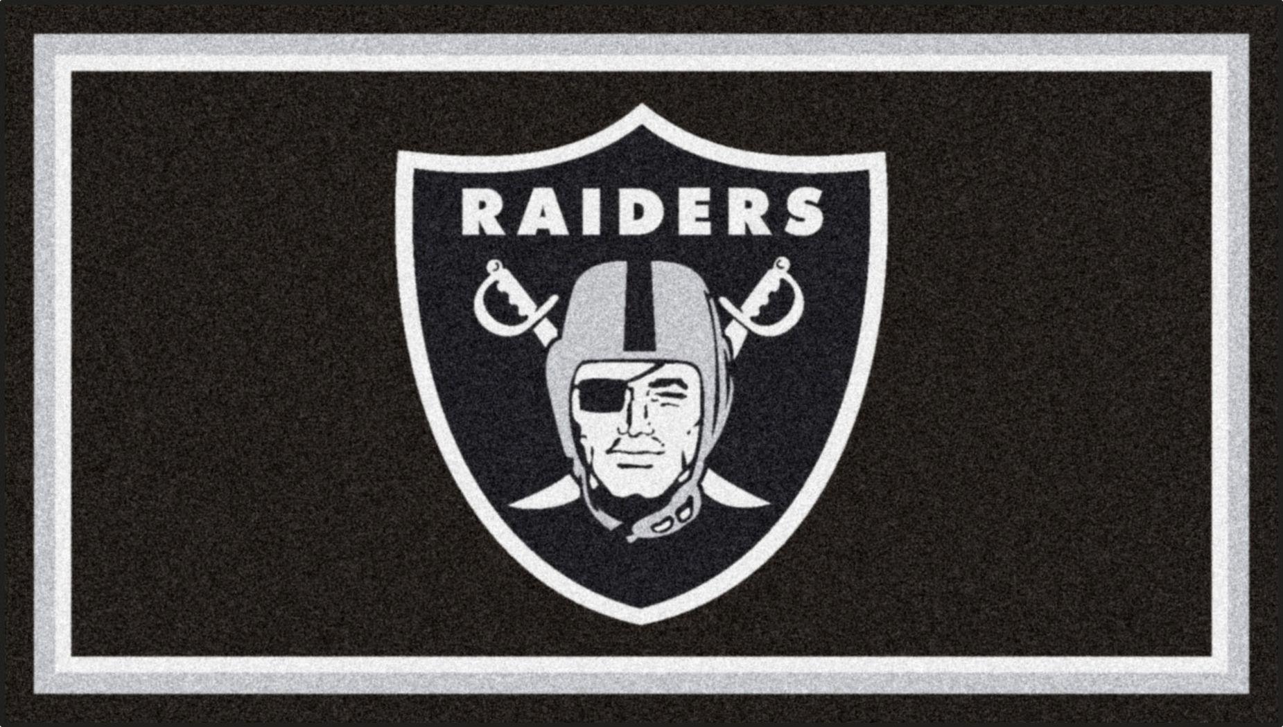 NFL Big Game Oakland Raiders 3' x 5' Rug