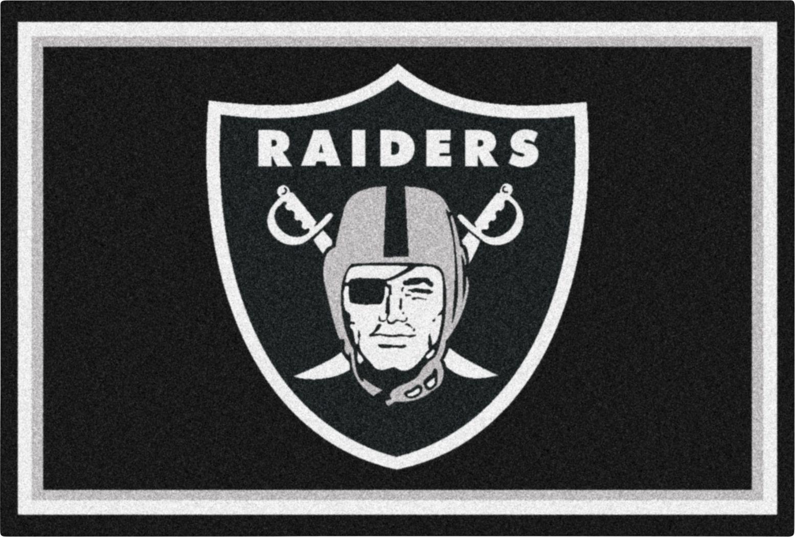 NFL Big Game Oakland Raiders 5' x 8' Rug