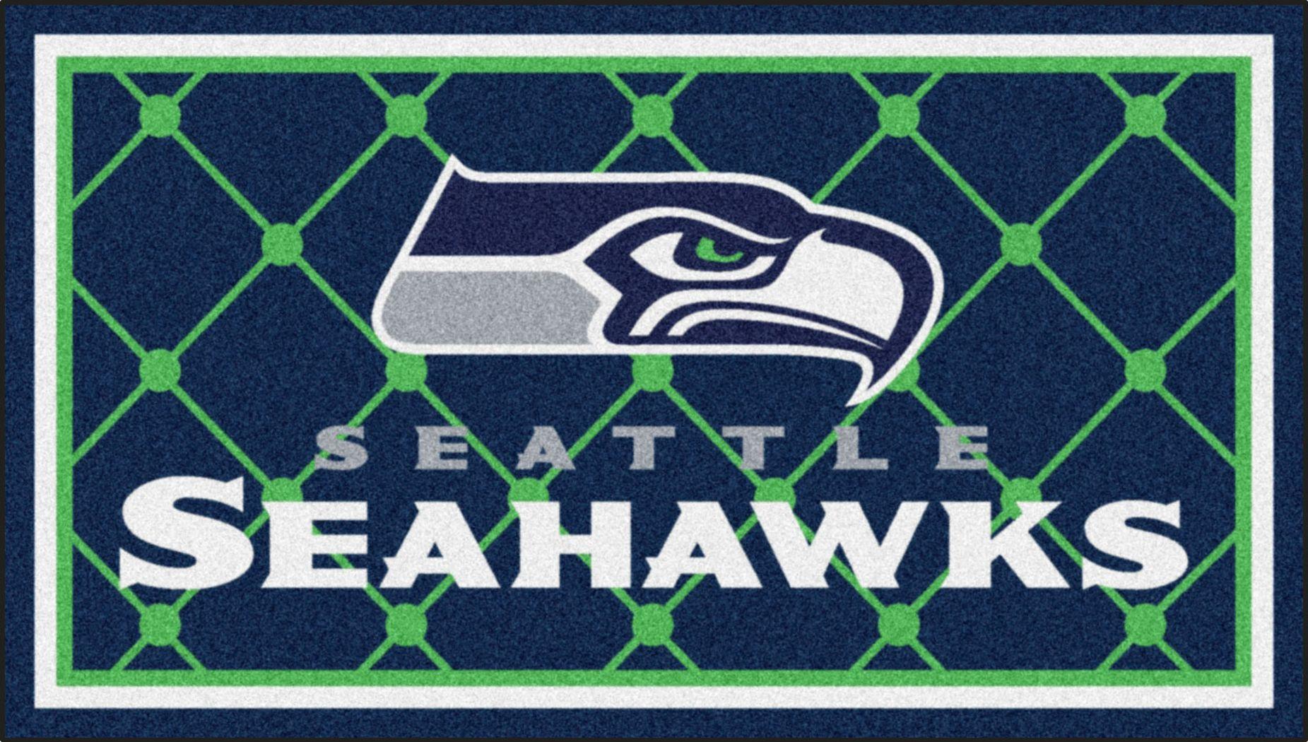 NFL Big Game Seattle Seahawks 3' x 5' Rug