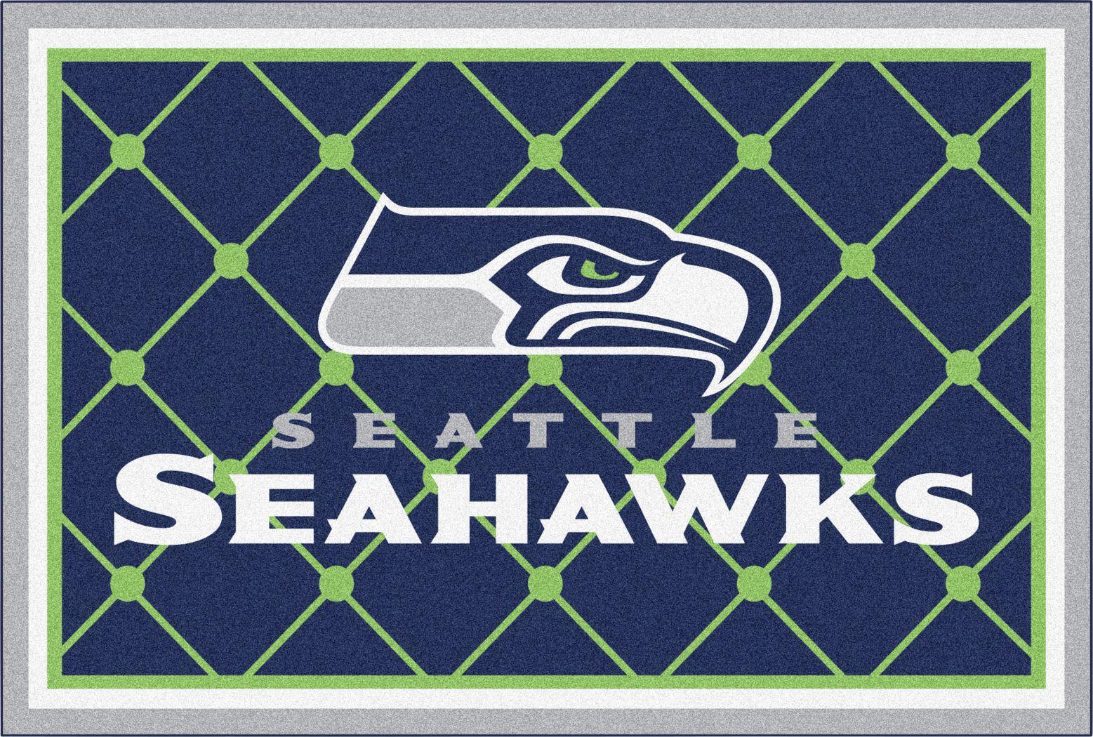 NFL Big Game Seattle Seahawks 5' x 8' Rug
