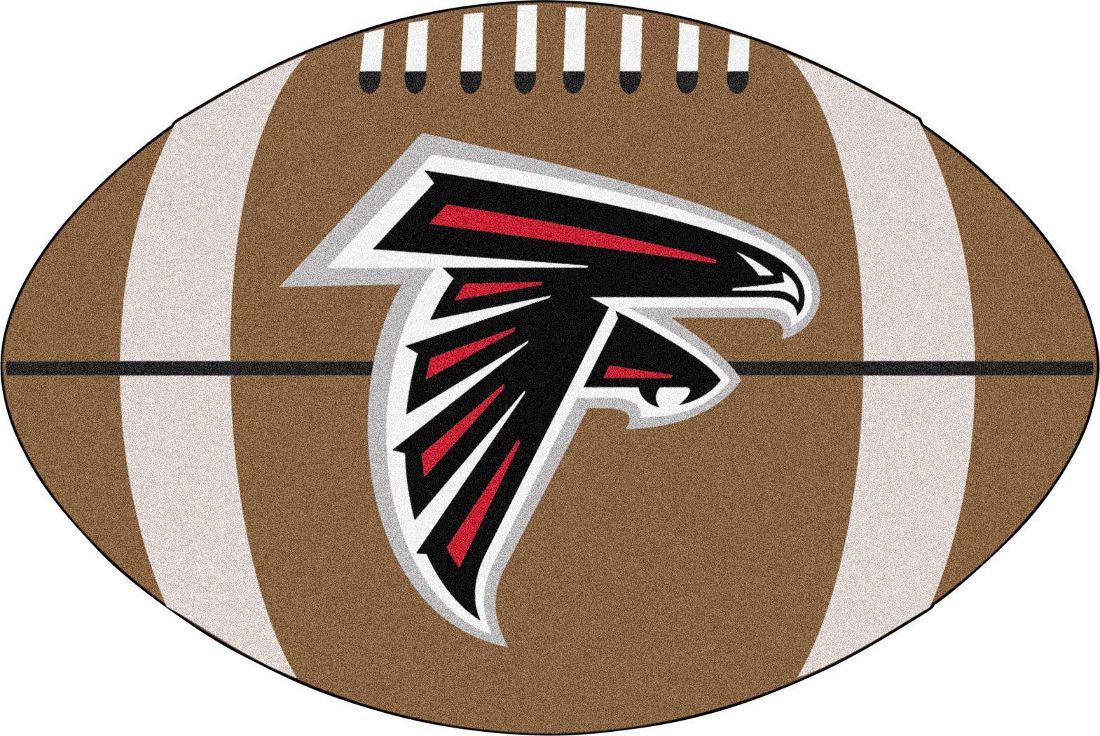 "NFL Football Mascot Atlanta Falcons 1'6"" x 1'10"" Rug"