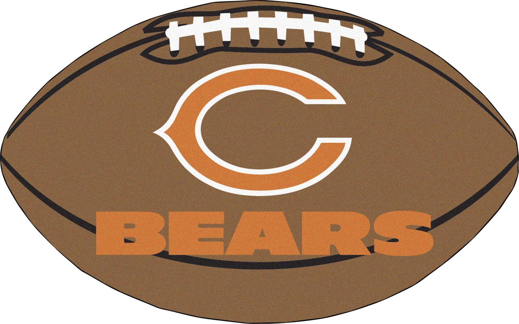 "NFL Football Mascot Chicago Bears 1'6""x 1'10"" Rug"