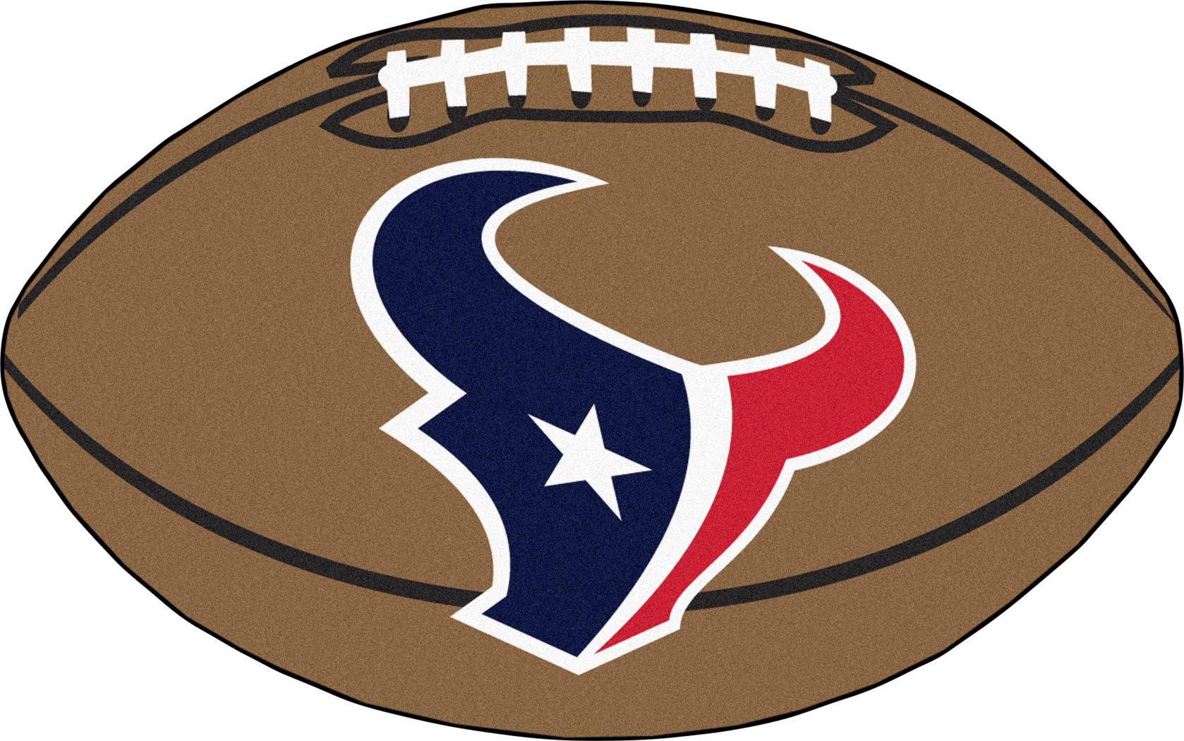 "NFL Football Mascot Houston Texans 1'6""x 1'10"" Rug"