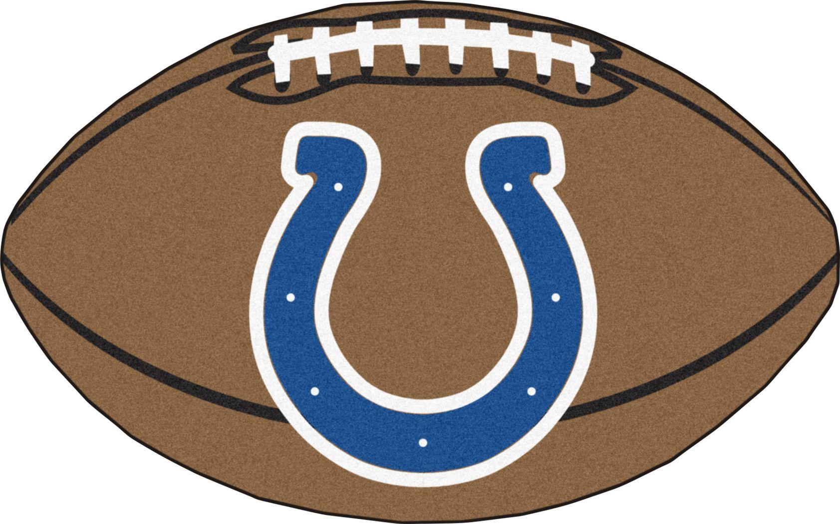 "NFL Football Mascot Indianapolis Colts 1'6""x 1'10"" Rug"