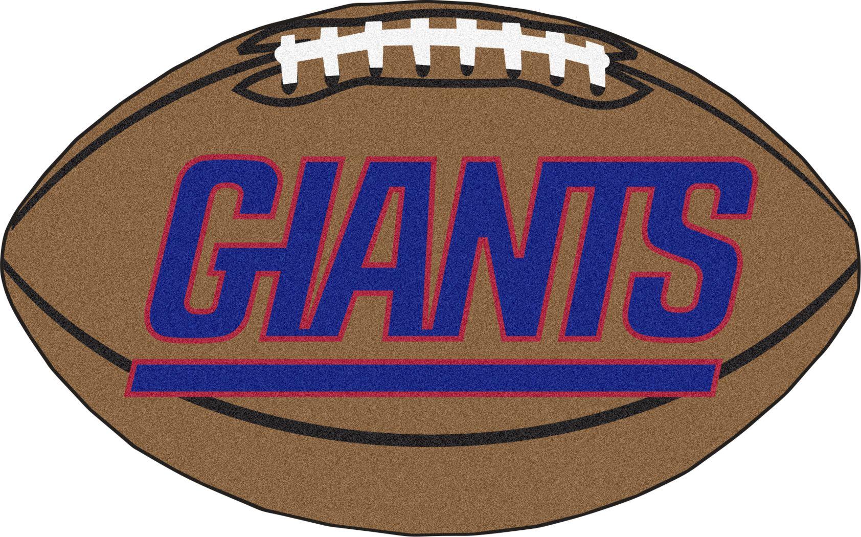 "NFL Football Mascot New York Giants 1'6"" x 1'10"" Rug"