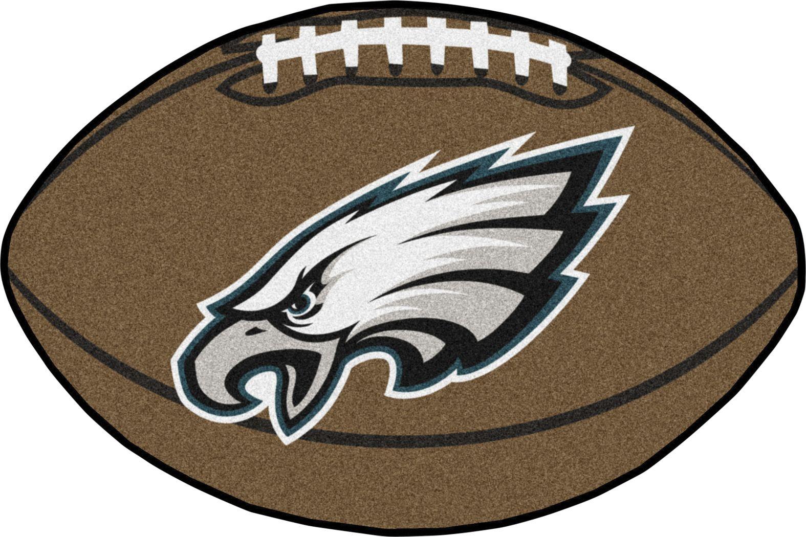 "NFL Football Mascot Philadelphia Eagles 1'6"" x 1'10"" Rug"