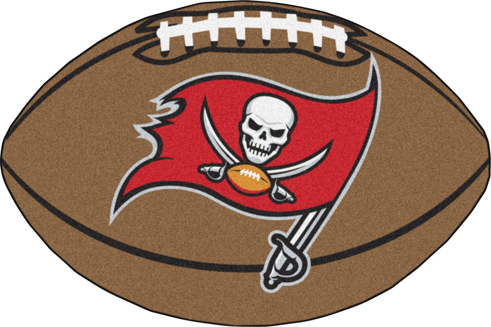 "NFL Football Mascot Tampa Bay Buccaneers 1'6"" x 1'10"" Rug"