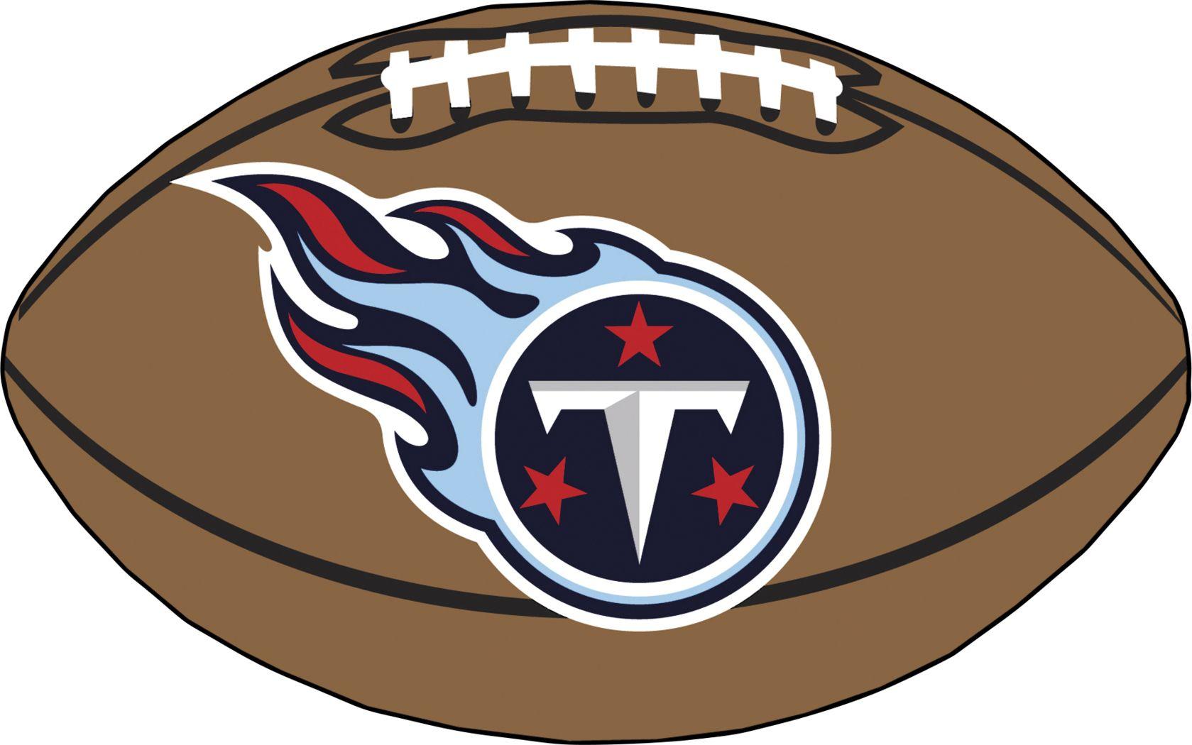 NFL Football Mascot Tennessee Titans 1'6 x 1'10 Rug