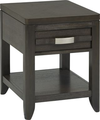 Niccolo Brown End Table