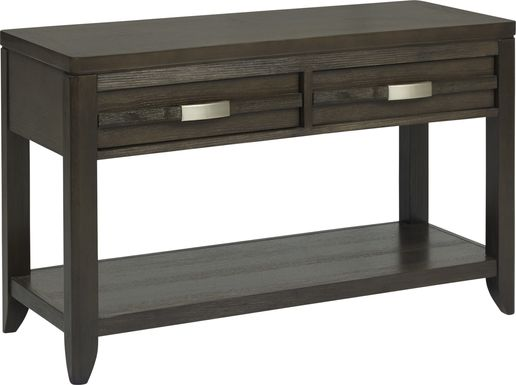 Niccolo Brown Sofa Table