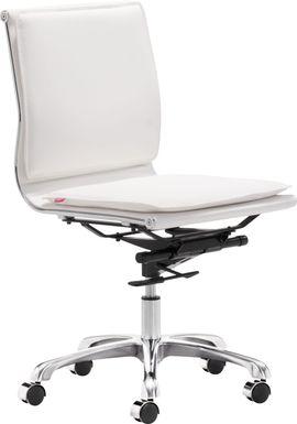 Nichelyn White Office Chair