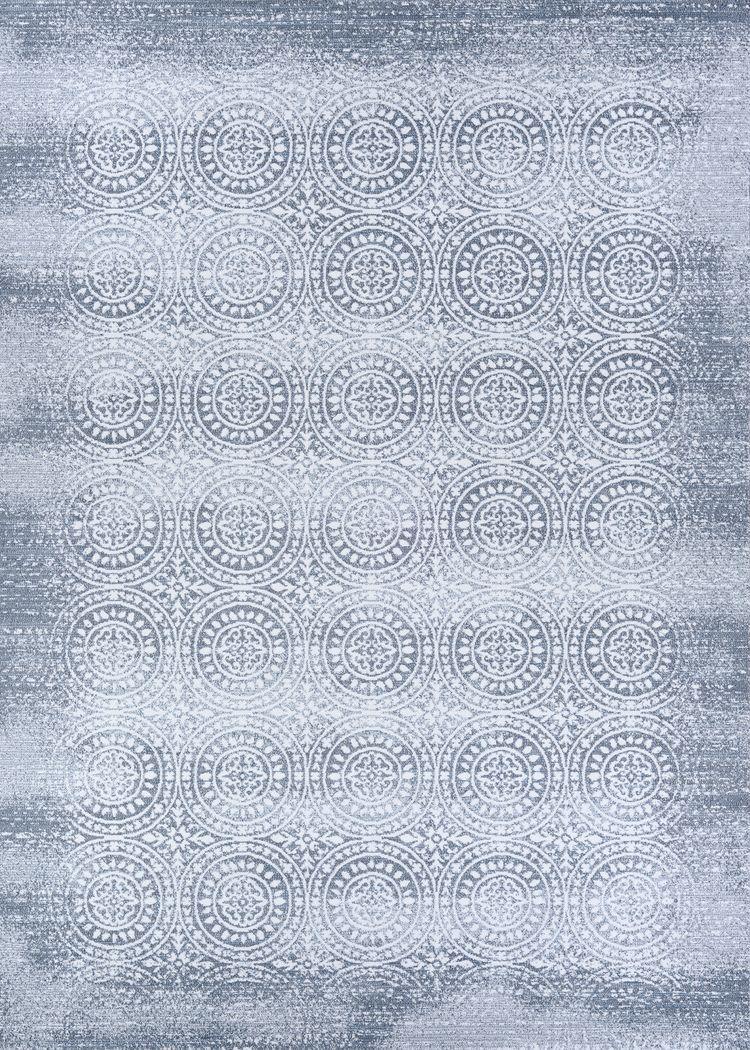 Night Sparkle Gray 6'6 x 9'6 Rug