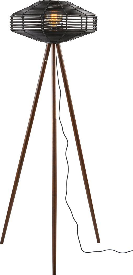 Nightgale Way Black Floor Lamp