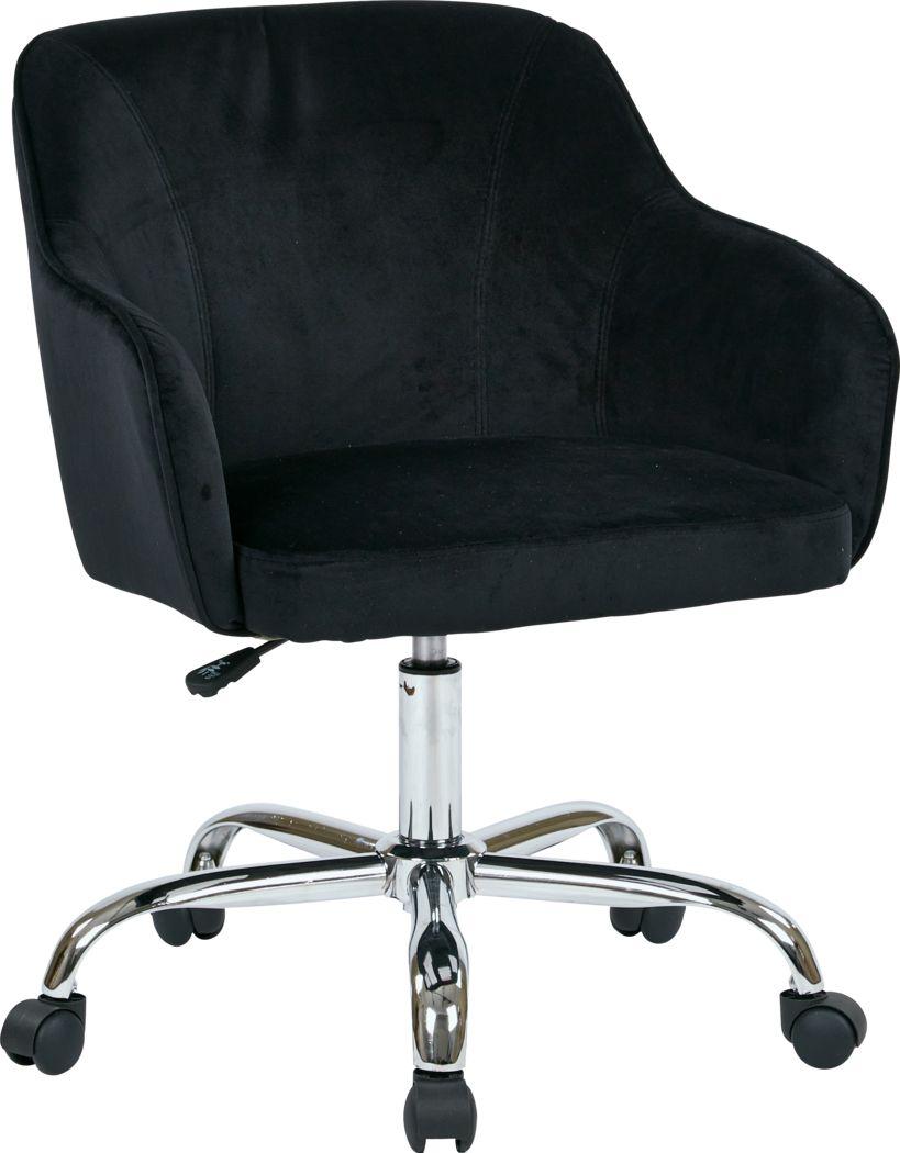 Nikitta Black Office Chair