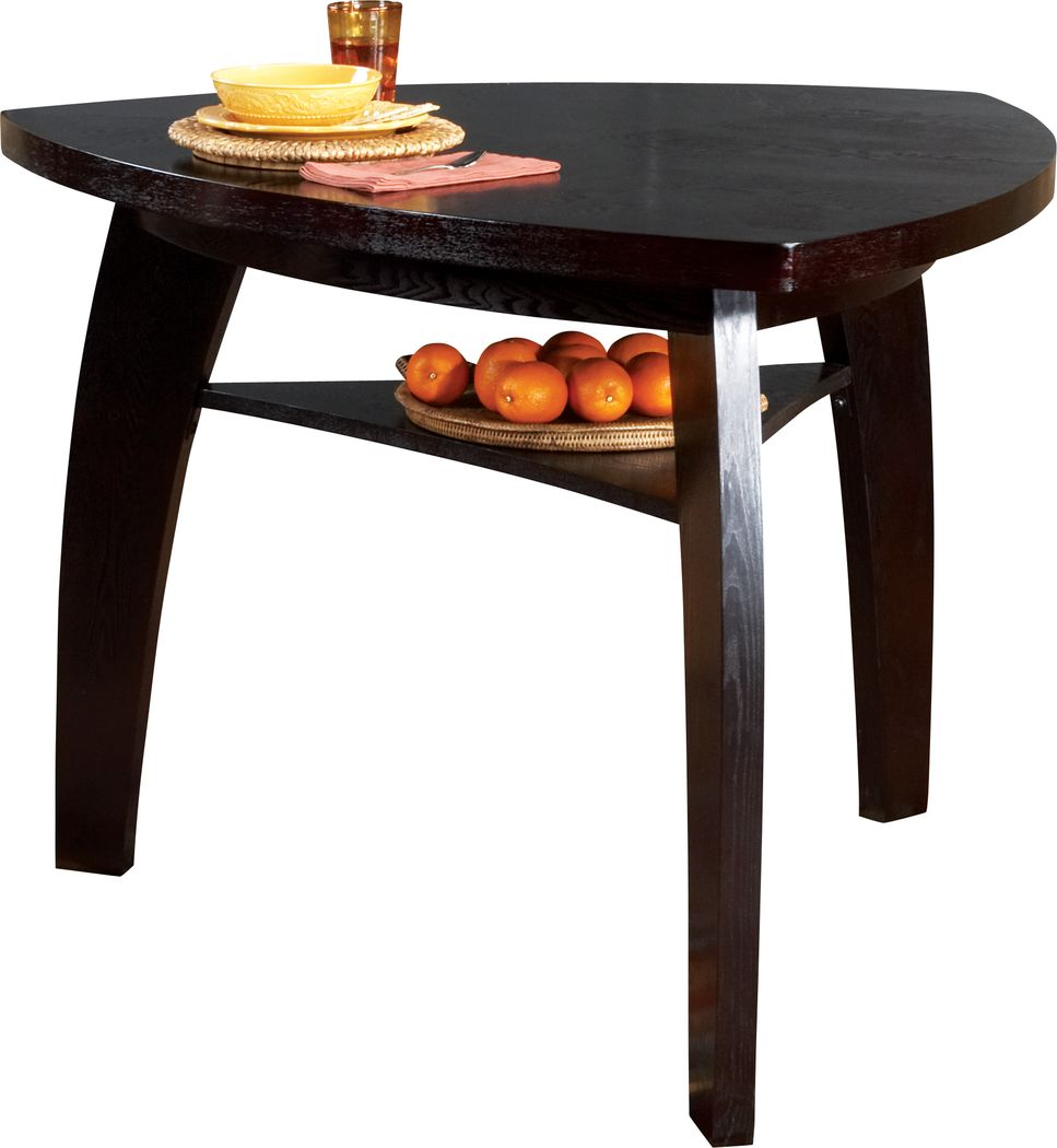 Noah Chocolate Bar Height Dining Table