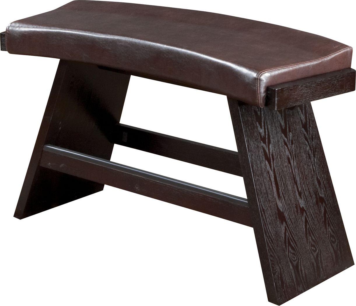 Noah Chocolate Bench