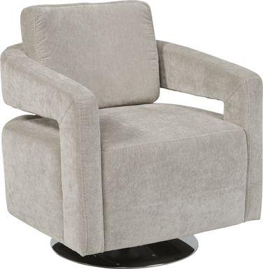 Northside Platinum Swivel Chair