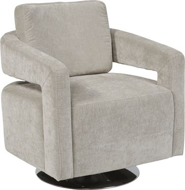 Northside Platinum Swivel Chair