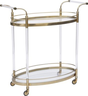 Northwick Gold Bar Cart
