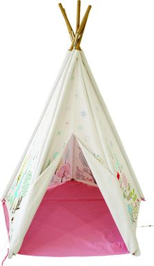 Kids Norwegian Wood Pink Play Tent