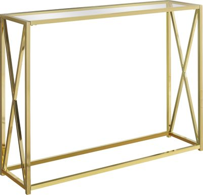 Nottoway Gold Console Table