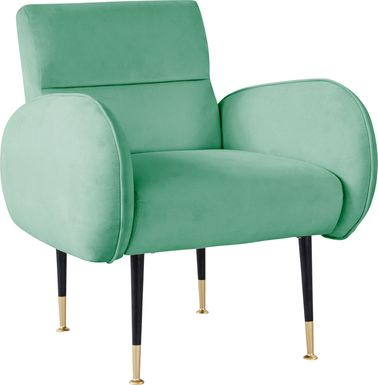 Nyelee Mint Accent Chair