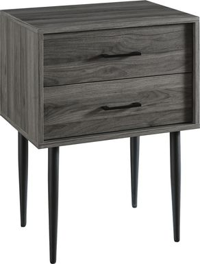 Oaks Cove Gray End Table