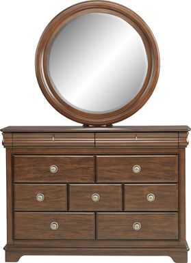 Kids Oberon Cherry Dresser & Mirror Set