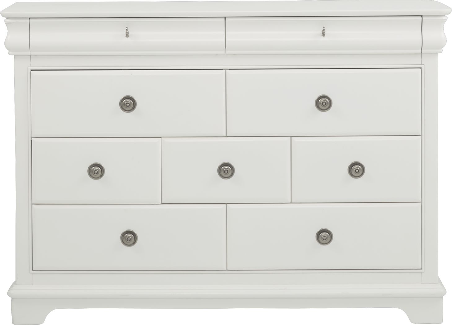 Kids Oberon White Dresser