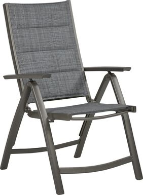 Ocean Tide Gray Outdoor Position Chair