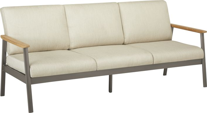 Ocean Tide Gray Outdoor Sofa