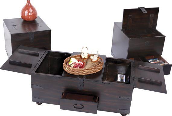 Oconee Espresso 3 Pc Table Set