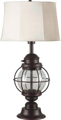Ocracoke Black Outdoor Table Lamp