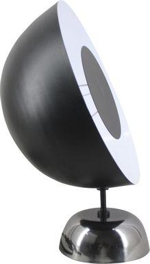 Oculto Black Table Lamp