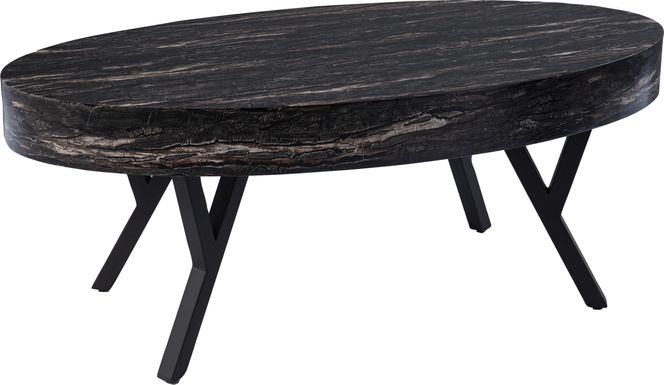 Oketo Black Cocktail Table