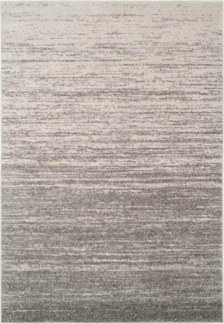 Omeir Light Gray 6' x 9' Rug