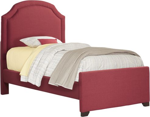 Kids Ophrie Red Twin Bed