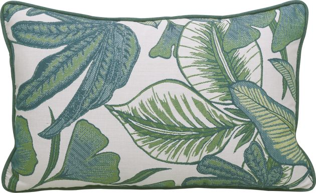 Lavish Palm Green Indoor/Outdoor Accent Pillow