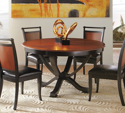 Orland Park Black 5 Pc Dining Set