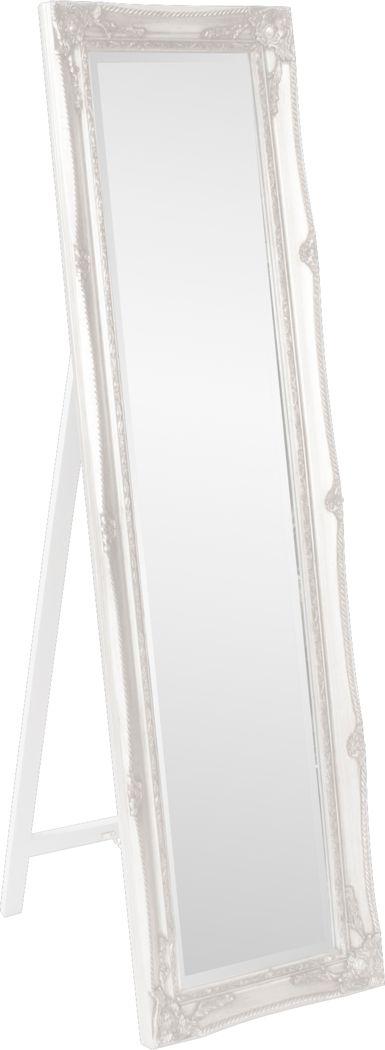Orwell White Leaner Mirror