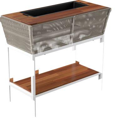 Outdoor Menifee Brown Bar Cart