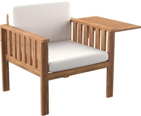 Outdoor Mityglen Natural Accent Chair