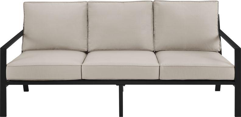 Outdoor Overlane Black Sofa