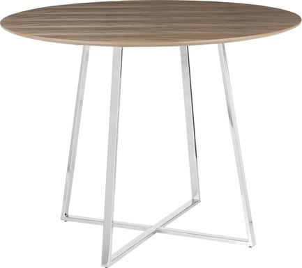 Ovalla Chrome Dining Table